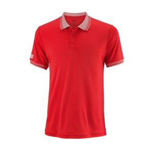 WRA765405_SS18_Team_M_Team_Polo_Mens_WilsonRed_White_Front